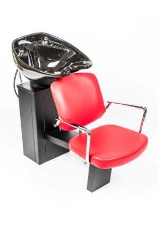 Парикмахерская мойка Сибирь с креслом Конфи