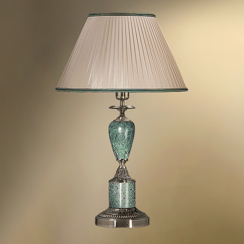 Настольная лампа с абажуром 38-08.59/3359 ПЕТЕРГОФ