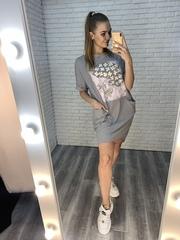 платье в полосочку летнее купить
