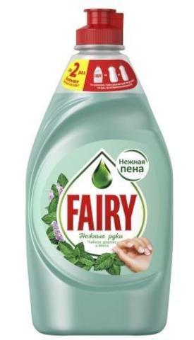 FAIRY Средство для мытья посуды Нежные руки Чайное дерево и мята 450мл