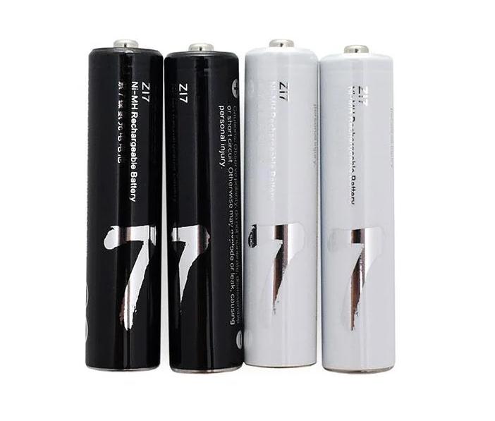 Гаджеты Аккумуляторные батарейки Xiaomi ZI7 Ni-MH Rechargeable Battery (HR03-AAA) (4 шт.) 1000.png