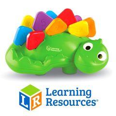 Для самых маленьких Стегозаврик Learning Resources