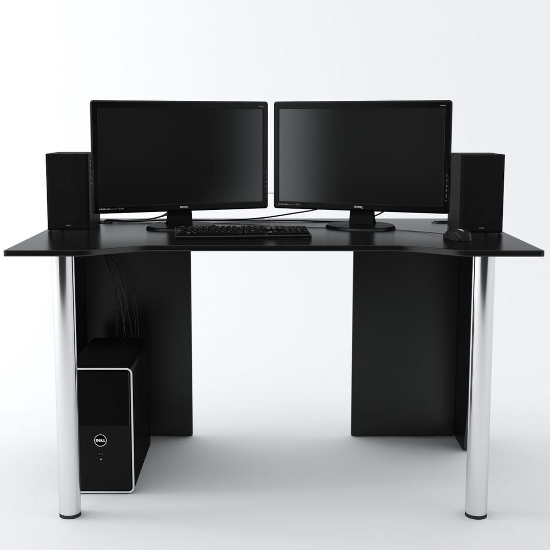 Стол Компьютерный LevelUP 1400 Черный