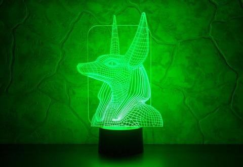 Лампа Анубис
