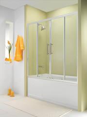 Стеклянная шторка на ванну Esbano ES-1415 150х140 см