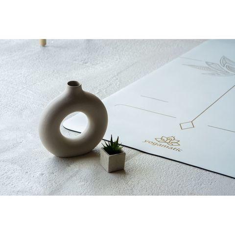 Каучуковый коврик для йоги Art Lotos Gold 185*68*0,4 см