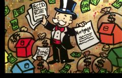 "Постер ""ALEC Monopoly"""