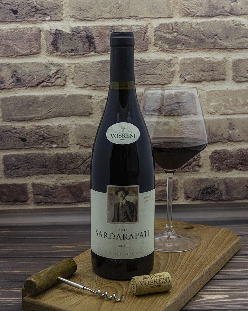 Вино Voskeni Сардарпати Арени Красное сухое 2015 г.у. 13,5% 0,75 л.