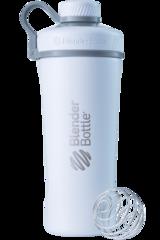 Шейкер-термос стальной Blender Bottle Stainless Radian Tritan  769мл White