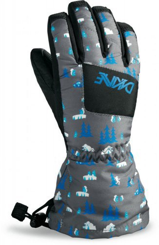 Перчатки Перчатки детские Dakine Yukon Glove Creatures edmsc0d.jpg