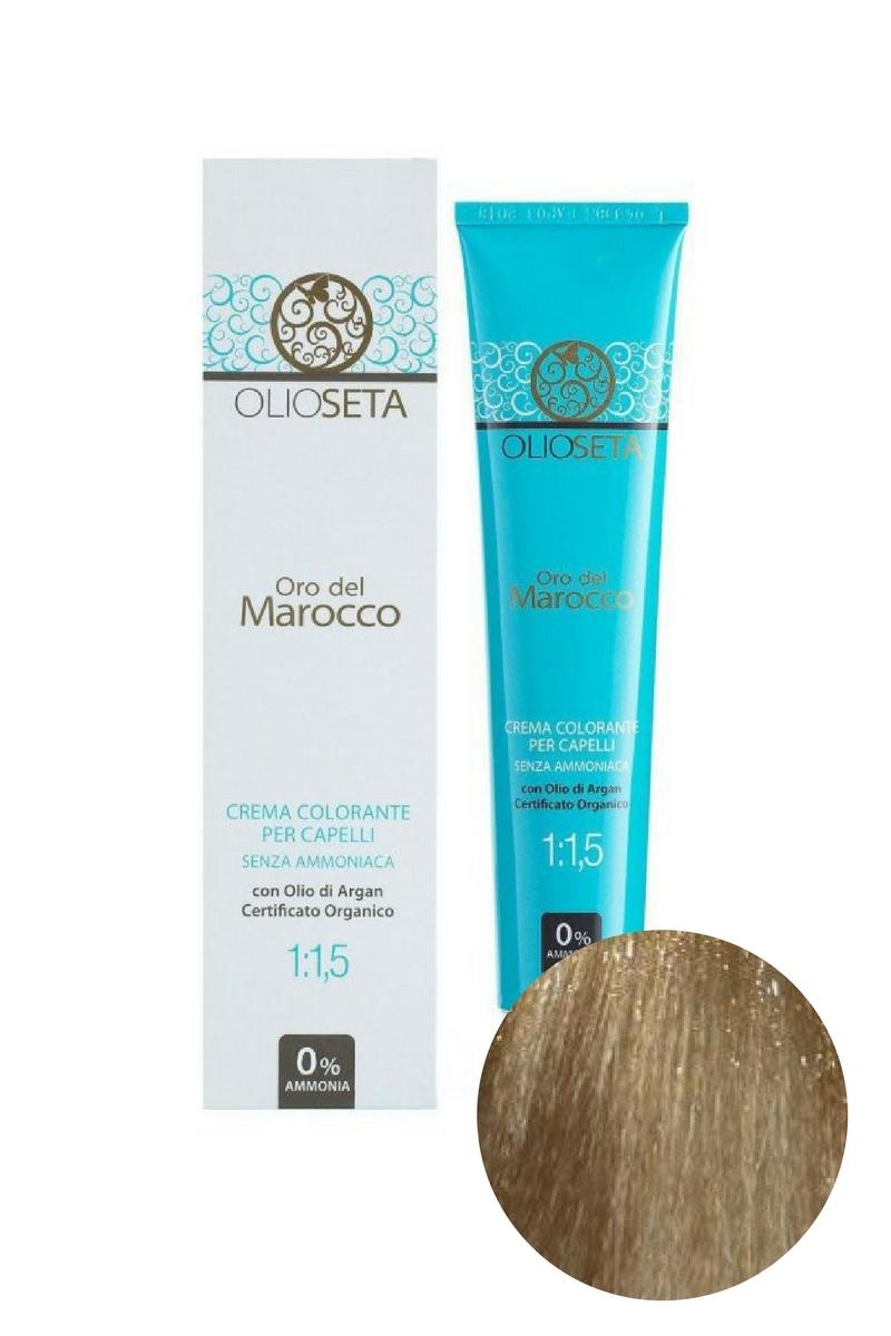 Крем-краска для волос 8.0 Светлый блондин Oro del Marocco, Barex