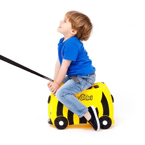 Детский чемодан на колесах Пчела