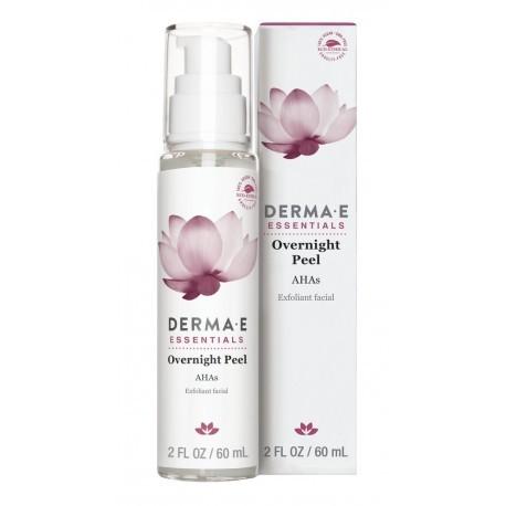 Пилинг ночной Derma E Overnight Peel с AHA кислотами  60 мл