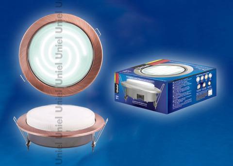 GX70/Н5 Античная медь Светильник ультратонкий встраиваемый
