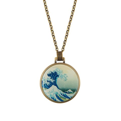 Колье «Большая волна в Канагаве» B78461-OLAS