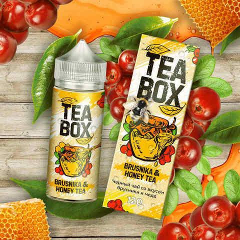Жидкость Tea Box 120 мл Brusnika & Honey Tea