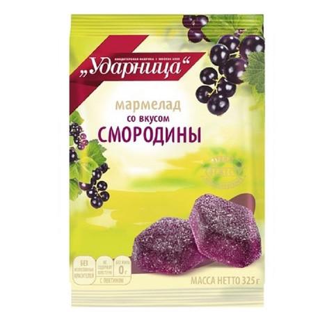 Мармелад Вкус черной смородины Ударница, 325г