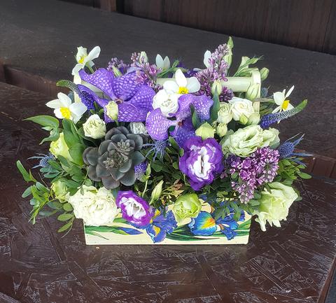 Ящик с цветами Ванда 3