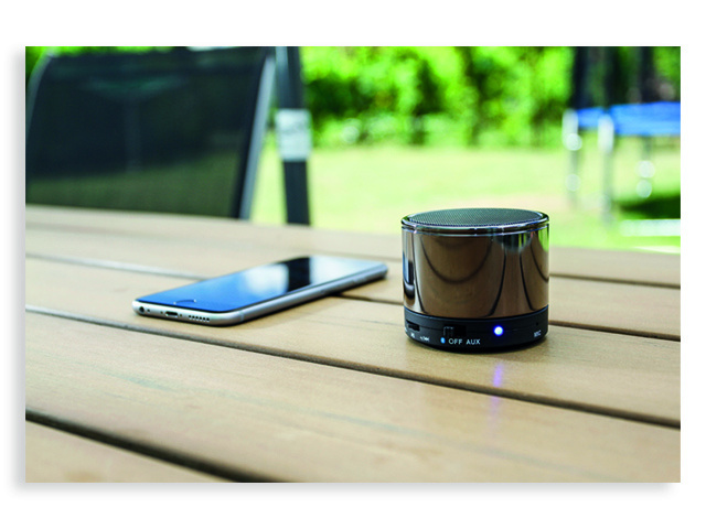 Beat Bluetooth Speaker, grey