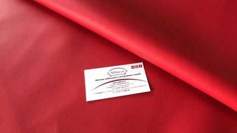 Искусственная кожа Латте 112 красный