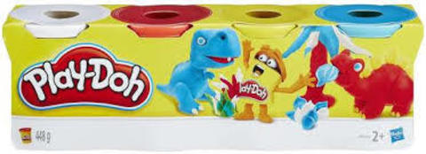 Play Doh 4 Pack Classic Colours