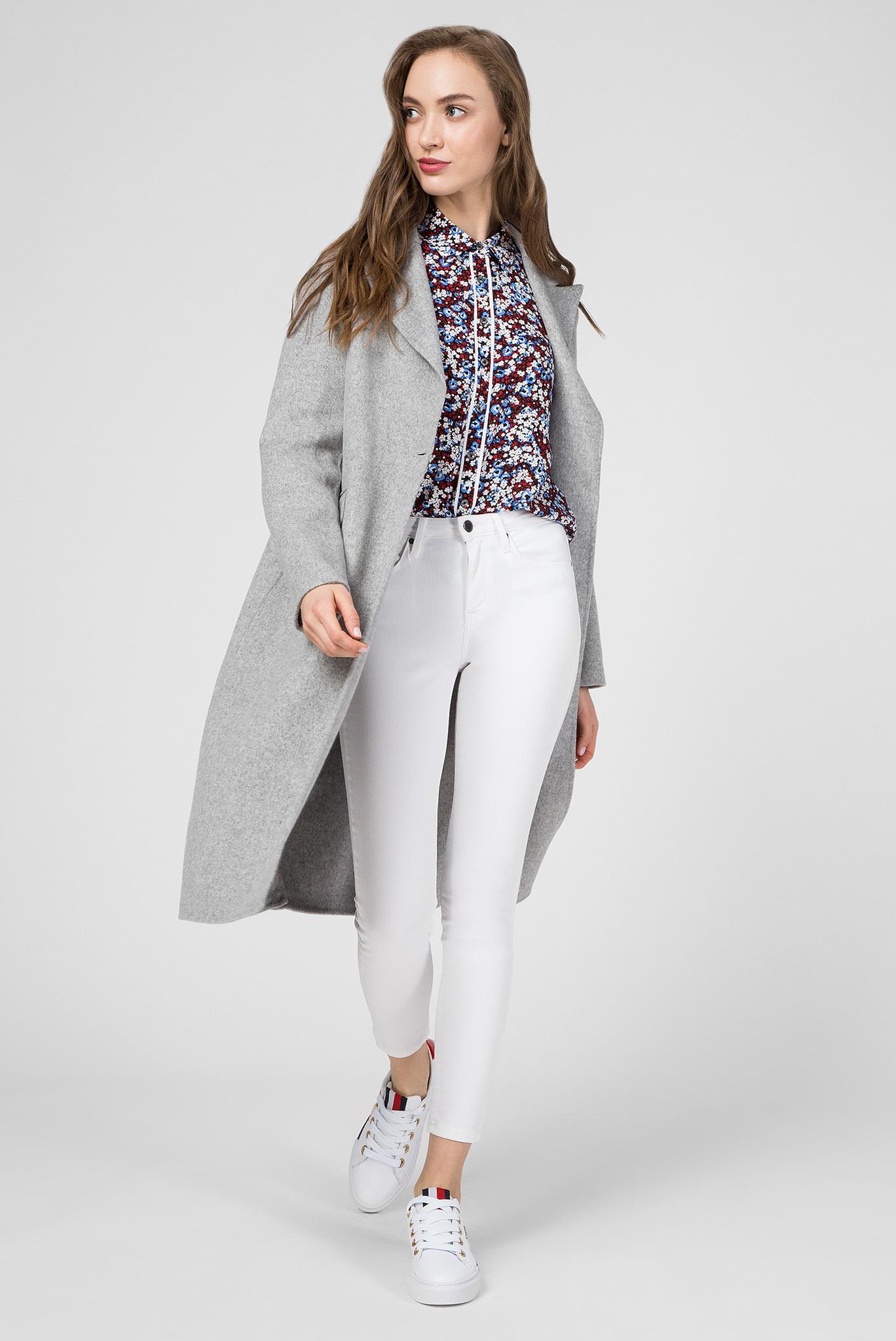 Женское серое пальто BIANCA DF Tommy Hilfiger