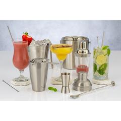 Шейкер для коктейлей стеклянный Barware 280 мл, фото 2