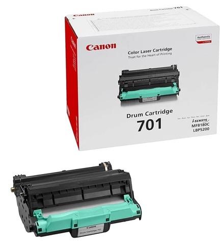 Оригинальный фотобарабан Canon 701 9623A003 черный