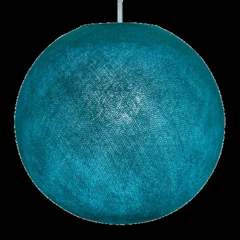 Хлопковый шар - подвес Темно-бирюзовый
