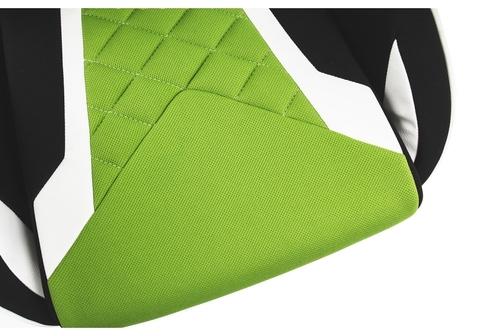 Офисное кресло для персонала и руководителя Компьютерное Prime черное / зеленое 70*70*125 Черный / зеленый