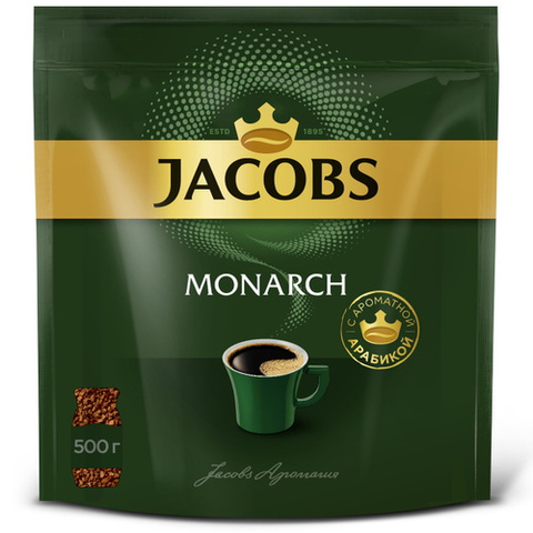 Кофе Якобс Монарх  классический м/у 500 гр