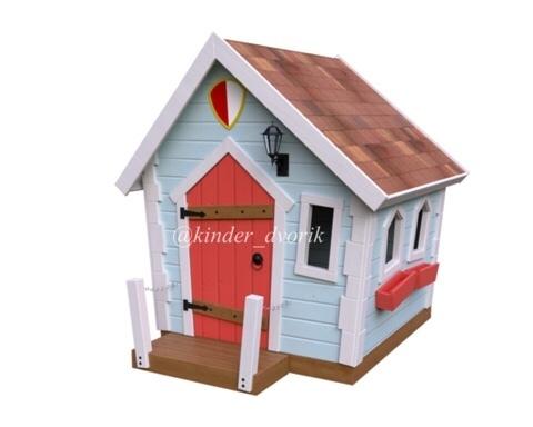 Детский домик для маленьких рыцарей