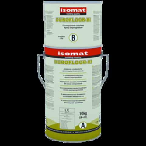 Isomat Durofloor BI/Изомат Дюрофлор БИ двухкомпонентная бесцветная эпоксидная пропитка