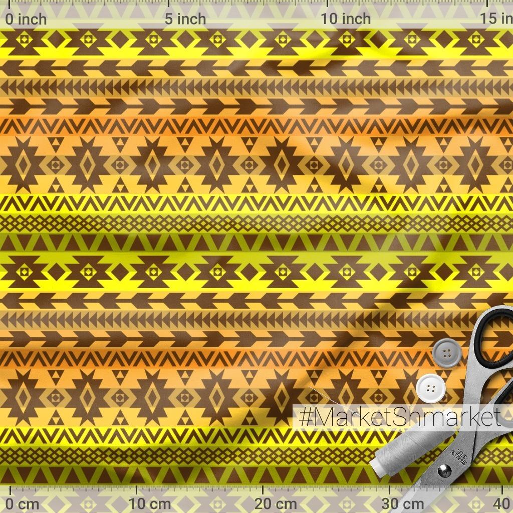 геометрия в желто-коричневом