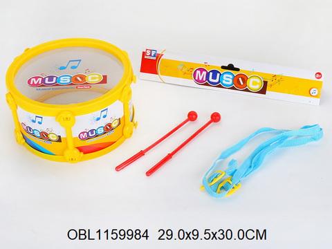 Барабан (17х17х9 см., в пакете), 9255