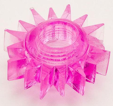 Розовое эрекционное кольцо