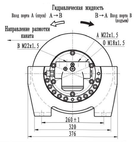 Эвакуационная лебедка IYJ2.52.5-30-72-13-ZPNA