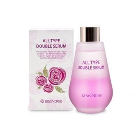 SeaNtree All Type Double Serum двухфазная увлажняющая сыворотка для всех типов кожи