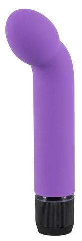 Фиолетовый вибростимулятор унисекс G+P Spot Lover - 16 см.