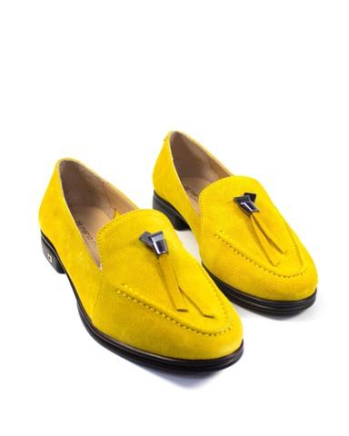 желтые лоферы Mario Muzi
