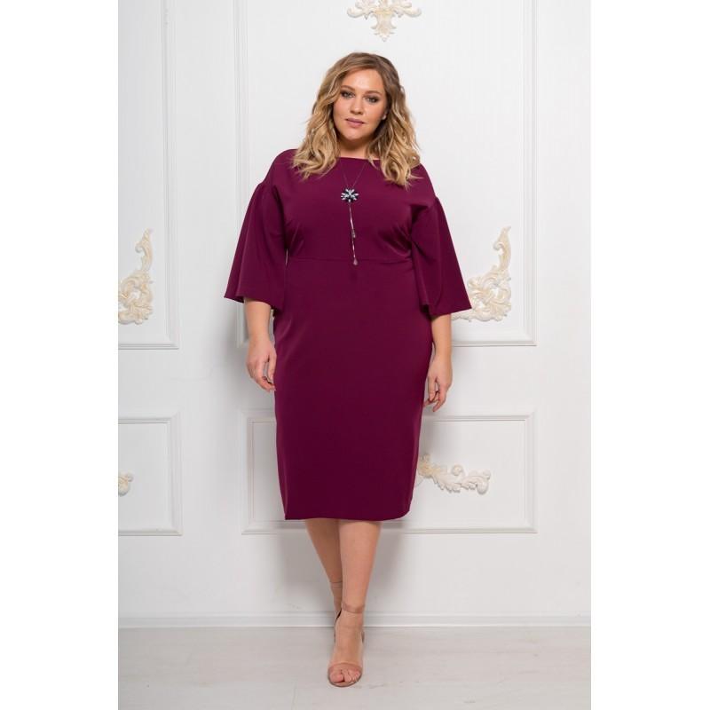 Платья Платье Эндже бордо L 3U7B9416-800x800.JPG