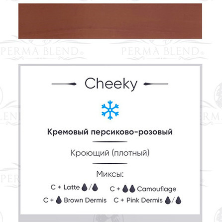 """CHEEKY"" пигмент  Permablend"