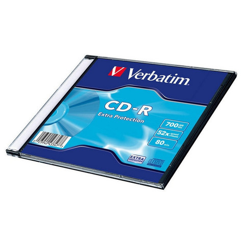 Диск CD-R Verbatim 700 Mb 52x