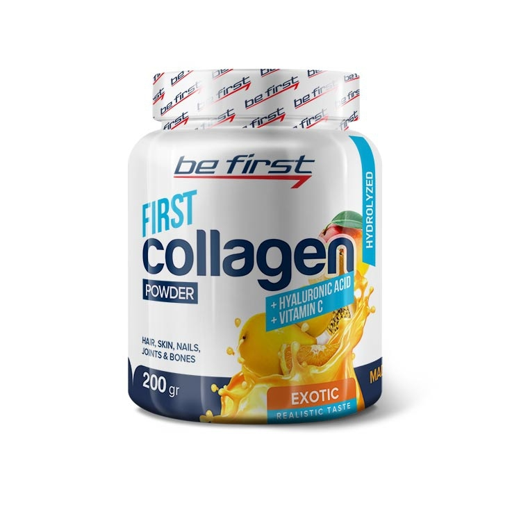 Be First First Collagen + hyaluronic acid + vitamin C 200 гр