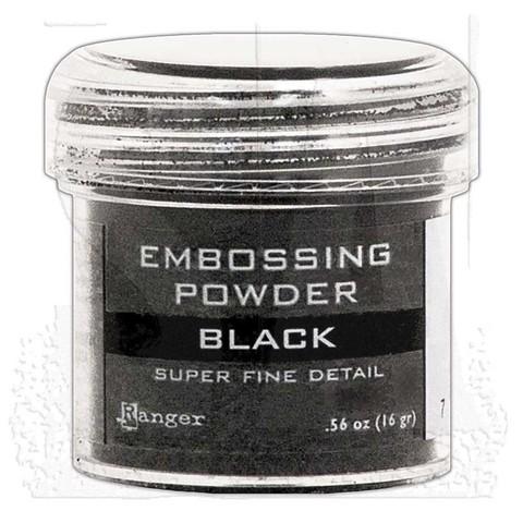 Пудра для эмбоссинга Ranger Ink- BLACK