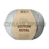 Пряжа Fibranatura Cotton Royal 18-723 (Серый жемчуг)