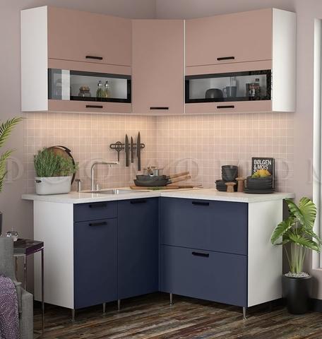 Кухня Угловая Техно NEW 1,4-1,4 м №3