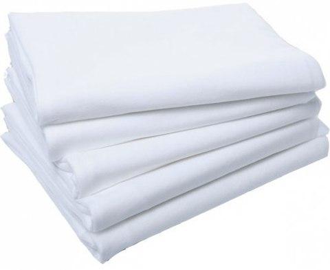 Полотенце спанлейс Эконом 40г/кв.м белый 35х70см 50 шт/пласт /