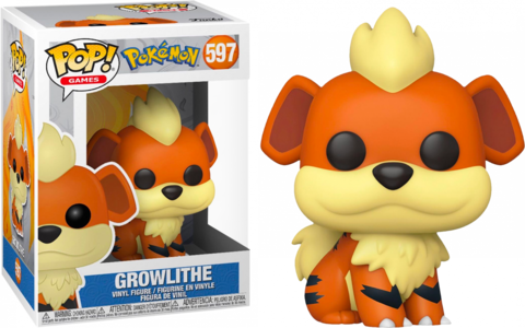Фигурка Funko Pop! Games: Pokemon - Growlithe