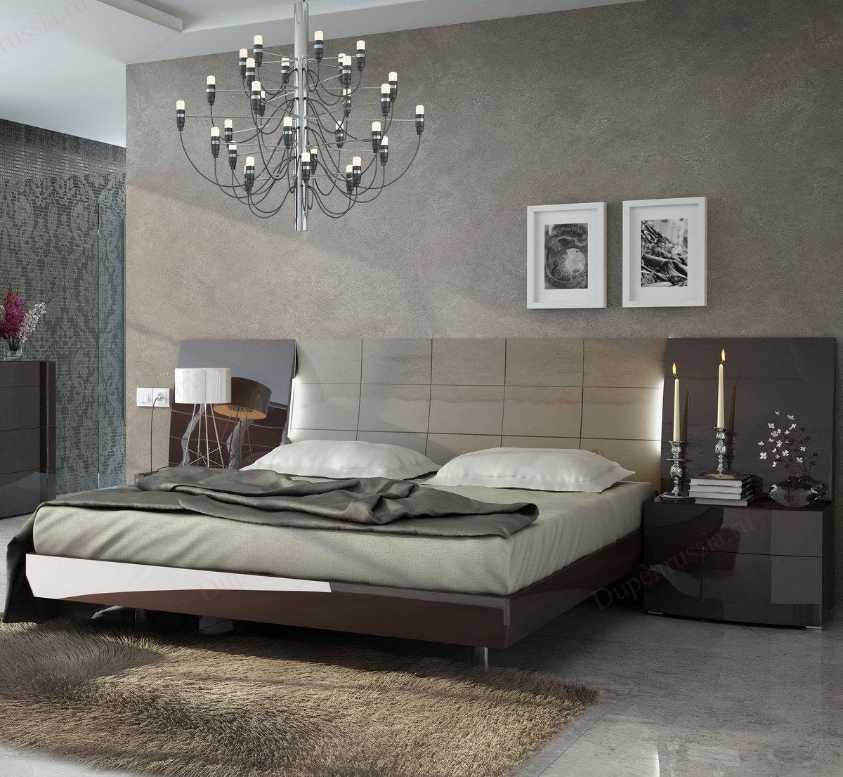 Кровать FENICIA 511 BARCELONA шоколад